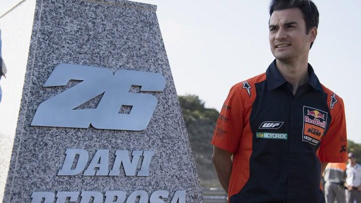 Pedrosa c'è: scenderà in pista nei test di Brno