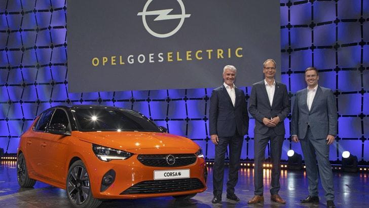 Nuova Opel Corsa-e: svelata a Russelsheim FOTO e VIDEO