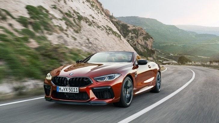 BMW M8 Competition, tecnologia e alte prestazioni