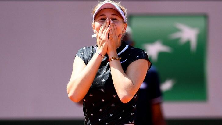 Roland Garros, Halep out: Anisimova e Barty in semifinale
