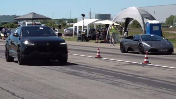 Lamborghini: gara di velocità tra Murcielago e Urus VIDEO