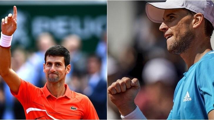 Thiem e Djokovic volano in semifinale al Roland Garros