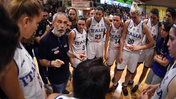 Basket Femminile, l'Italia torna in campo contro il Belgio