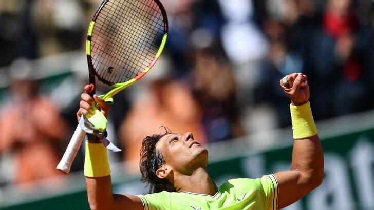 Nadal in finale del Roland Garros: piegato Federer