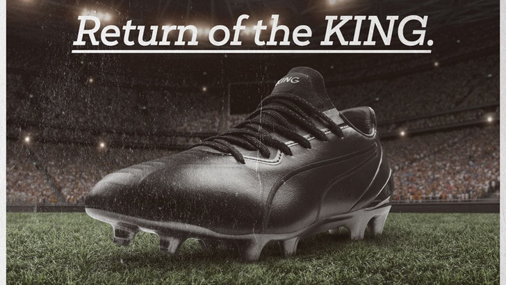 Thierry Henry ridisegna le Puma King Platinum