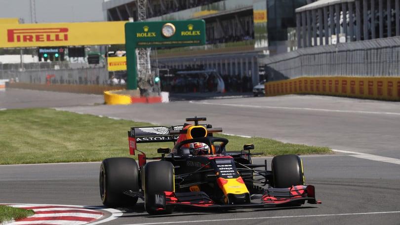 """Verstappen indietro in Canada: """"Siamo comunque competitivi"""""""