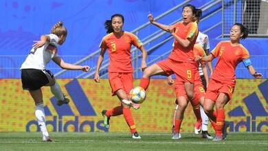 Mondiali femminili: la Germania batte la Cina, esordio positivo per Spagna e Norvegia