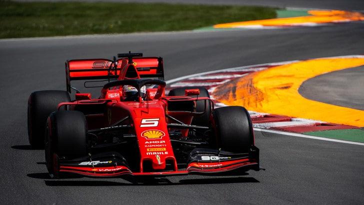 Ferrari: Vettel show, è pole in Canada! Hamilton secondo, Leclerc 3°