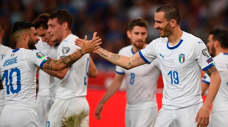 Grecia-Italia 0-3: azzurri col turbo, tris in mezzora e primato nel girone