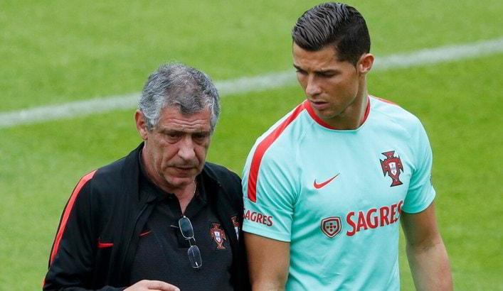 """Cristiano Ronaldo, il ct Santos: """"Ho un rimpianto che mi lega a lui"""""""