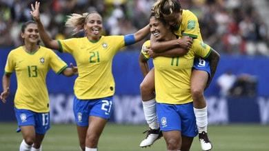 Mondiali femminili: tris Brasile alla Giamaica, Inghilterra ok contro Scozia