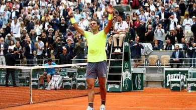 Nadal batte Thiem e trionfa per la 12ª volta nel Roland Garros