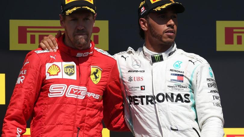 """Canada, Hamilton: """"Ho costretto Vettel a sbagliare"""""""