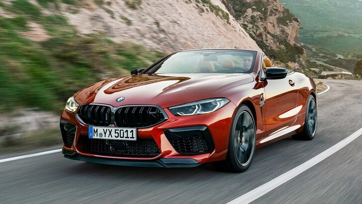 BMW M8 Competition, più potente che mai