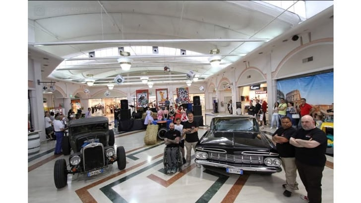 Portoricano Car Club Roma, il regno del custom americano