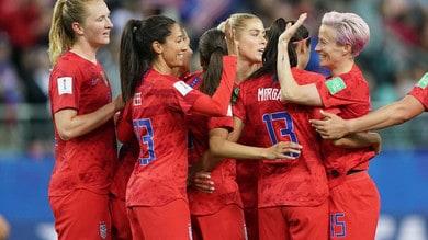 Mondiali femminili, Usa show: Thailandia travolta 13-0!