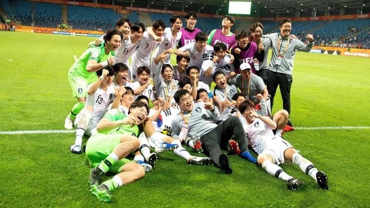 Mondiale U20, Corea del Sud in finale. Italia-Ecuador per il 3° posto