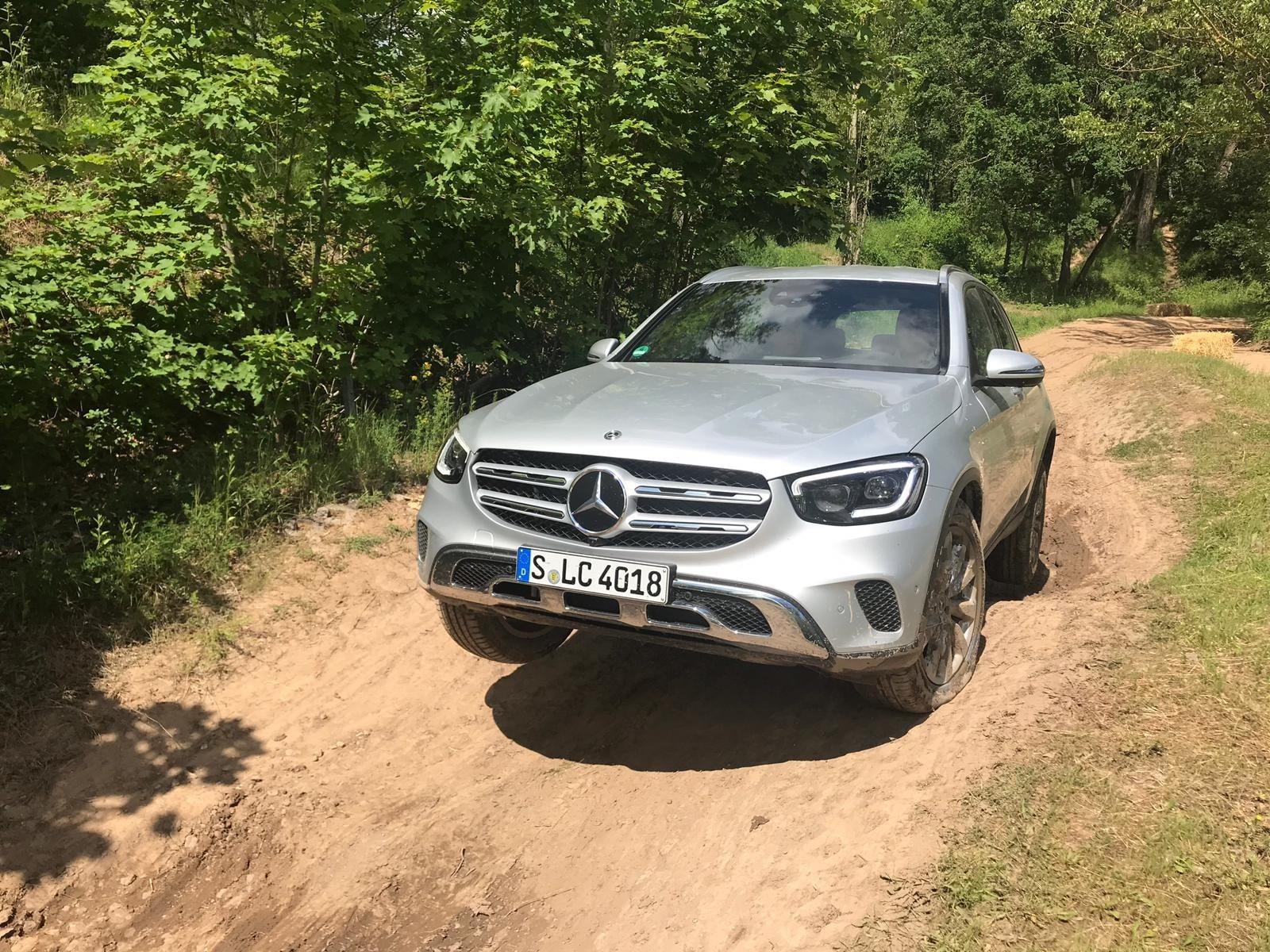Mercedes GLC: il test off-road, le foto
