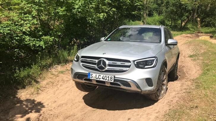 Mercedes GLC: il test off-road FOTO E VIDEO