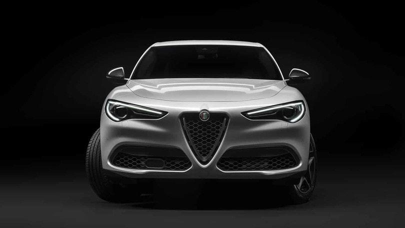 Alfa Romeo Stelvio Ti al Parco del Valentino