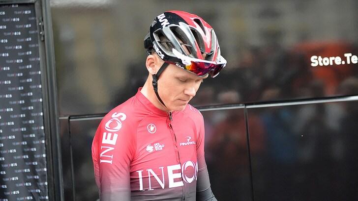 Brutta caduta per Froome, salterà il Tour de France