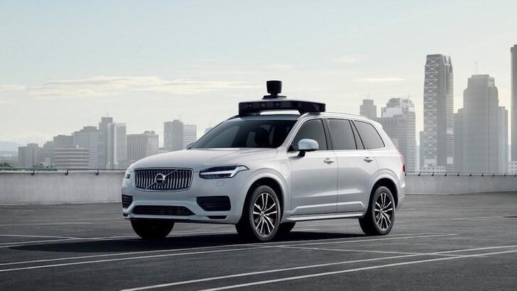 Volvo, in un decennio guida autonoma livello 4