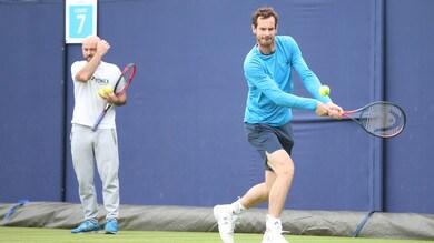 Tennis, Murray al Queen's in doppio: