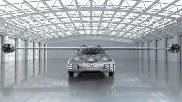 Aska, nel 2020 il prototipo dell'auto volante - Video e Foto
