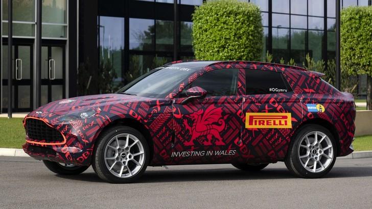 Aston Martin DBX, ll SuperSuv inglese già in produzione