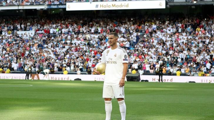 """Real Madrid, Hazard si presenta: """"Era il mio sogno"""""""