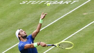 Berrettini in semifinale a Stoccarda: Kudla battuto in due set