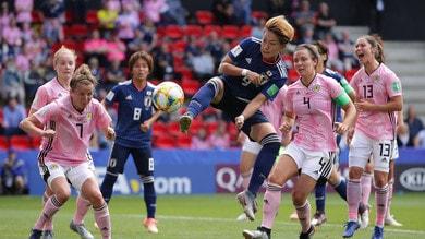 Mondiali femminili: vincono Giappone ed Inghilterra, ko Scozia ed Argentina