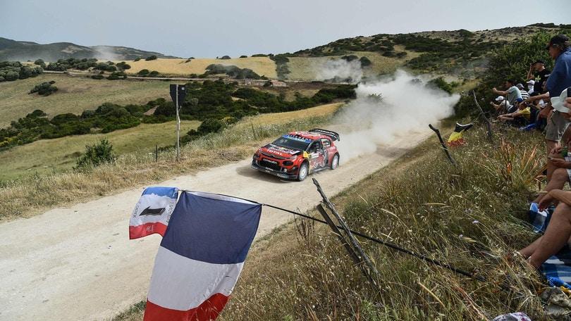 Rally Sardegna: Sordo in testa, Ogier si ferma