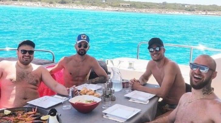 Milinkovic, relax a Formentera con la paella. E la Juve vigila...
