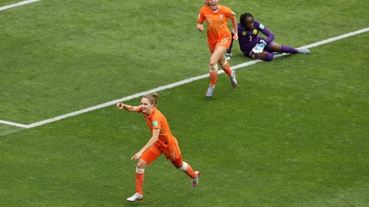 Mondiali femminili: Canada e Olanda volano agli ottavi
