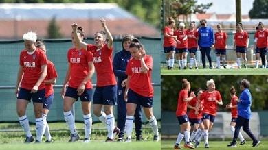 Mondiali femminili: l'Italia si prepara alla partita contro il Brasile tra sorrisi e tanto entusiasmo
