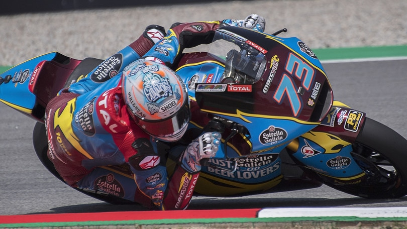 Moto2: Alex Marquez vince in Catalogna