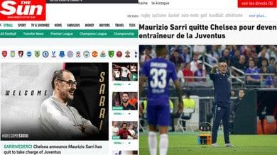 Juve-Sarri, la reazione della stampa estera
