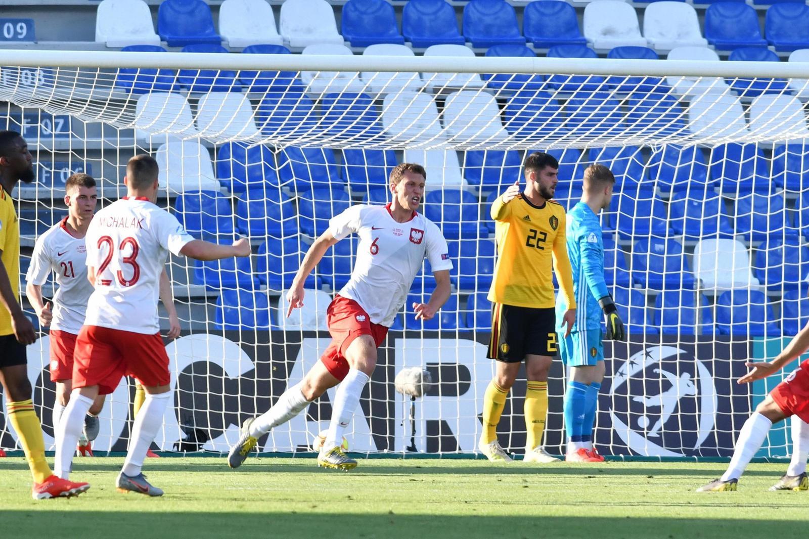 La Polonia batte il Belgio nella gara d'apertura degli Europei U21