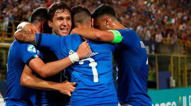 Italia U21, tris alla Spagna nella prima degli Europei U21