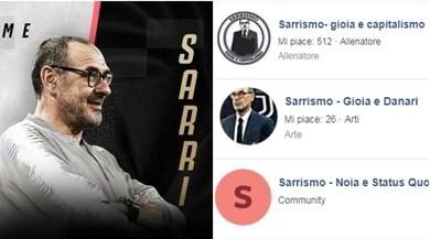 """Il nuovo """"Sarrismo"""" alla Juve secondo i social"""