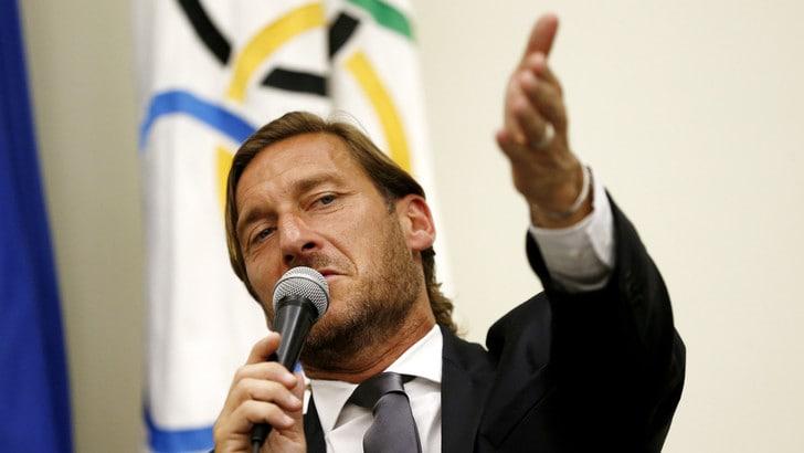 Montella sull'addio di Totti: