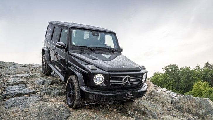 Mercedes Classe G,la serie speciale per i 40 anni