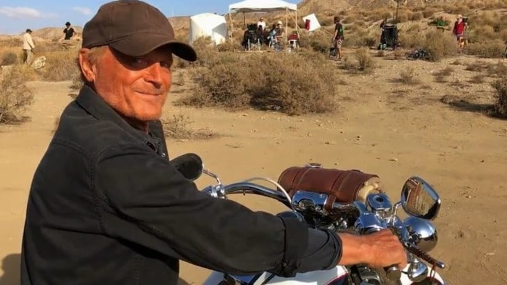 Una Harley-Davidson firmata Terence Hill