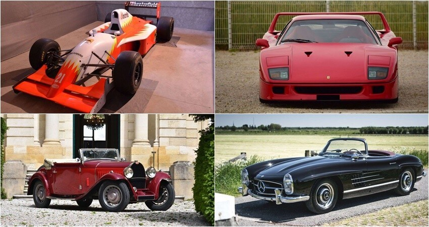 Automobiles en Scène, le foto delle auto d'epoca all'asta a Parigi