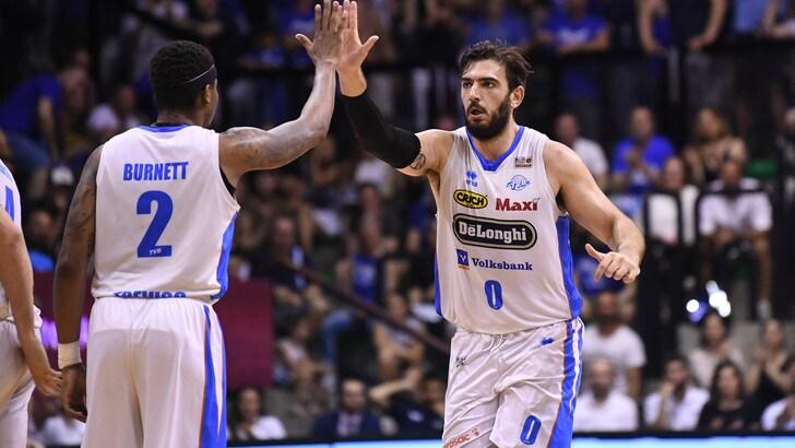 Basket, Treviso annienta Capo d'Orlando 3-0 e vola in Serie A