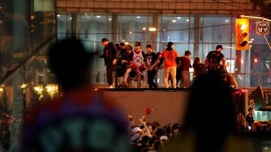 Toronto Raptors, spari durante la parata: quattro feriti, tre arresti