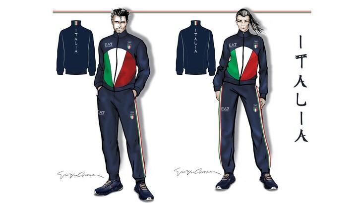 5351ceb8bb A Tokyo 2020 gli italiani vestiranno Armani - Tuttosport