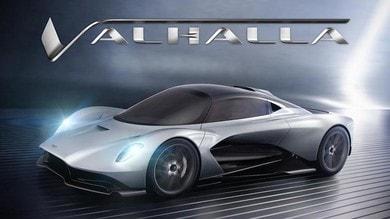 Aston Martin, Valhalla è il nuovo nome del concept AM-RB 003