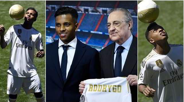 Real Madrid, ecco Rodrygo: colpi di classe alla presentazione